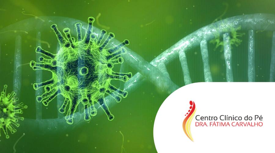 coronavírus podologia